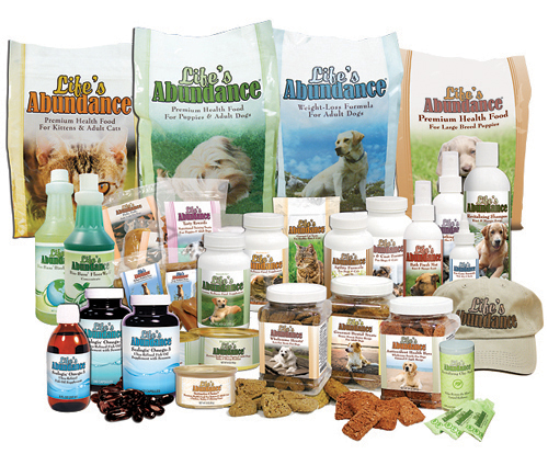 Life's Abundance Healthy Pet Products